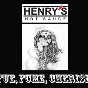 Henry's Fue Fumee Cerise Sauce