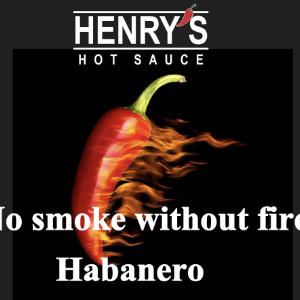 Henry's No Smoke Without Fire Sauce Medium Strength
