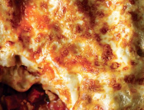 The Henry's Chorizo Lasagne