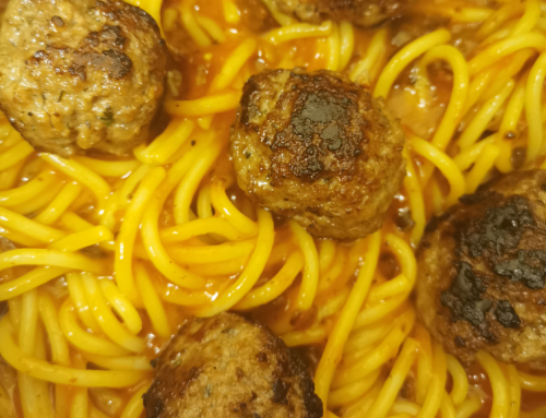 Henry's Spaghetti and Meatballs